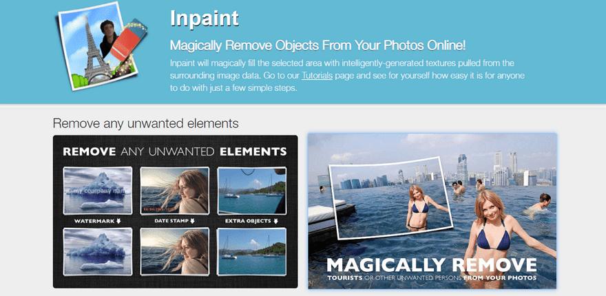 Inpaint 線上照片修飾工具,輕鬆刪除路人甲、電線、物品等不需要的影像(免費) - 逍遙の窩