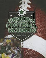 Amazing Football Records by Paul Hoblin book cover