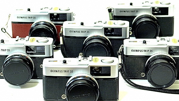 Olympus Trip 35, Battery Not Included