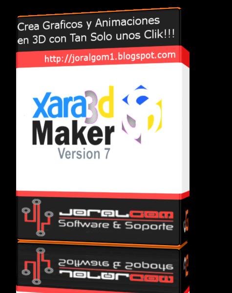 Xara 3D Maker 7 v7.0.0499 Crea Graficos y Animaciones en 3D con  Tan Solo unos Cliks!!!!