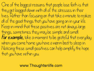 Thoughtsandlife: One of the biggest reasons that people lose faith.