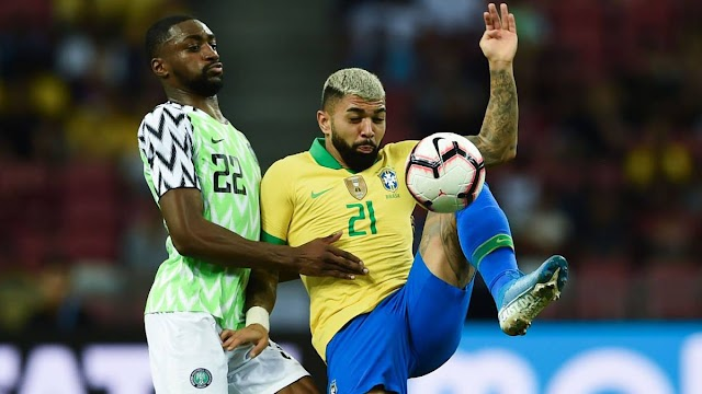 Breaking News: Super Eagles Hold Brazil To A Draw In Singapore (Video)