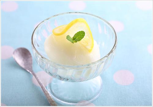 塩レモンシャーベット