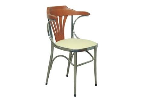 Gül Kromajlı Metal Sandalye