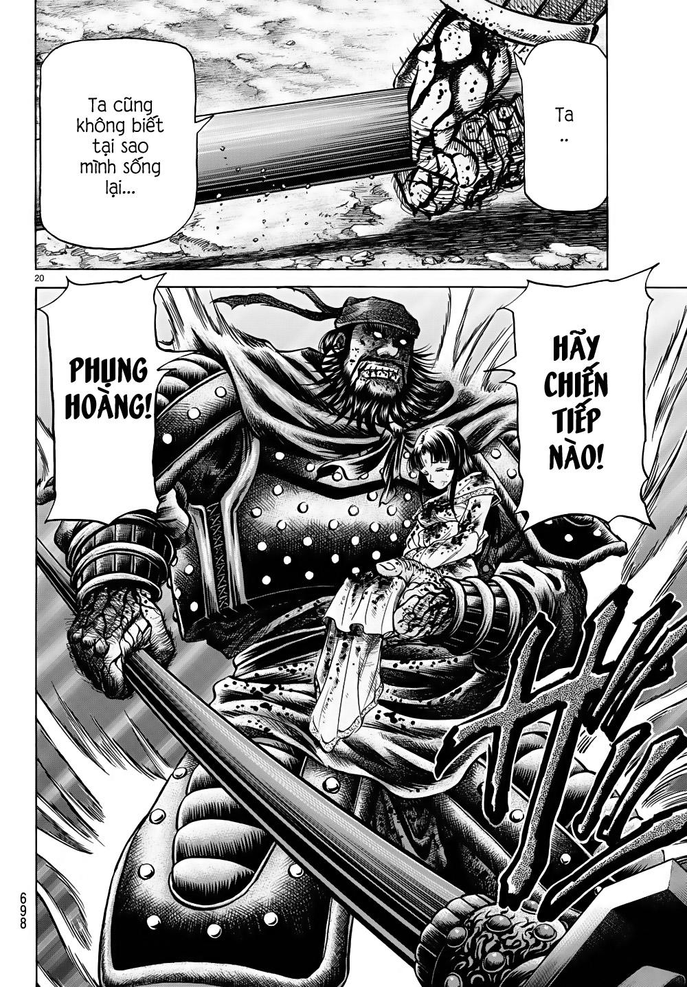 Chú Bé Rồng - Ryuuroden chap 260 - Trang 19