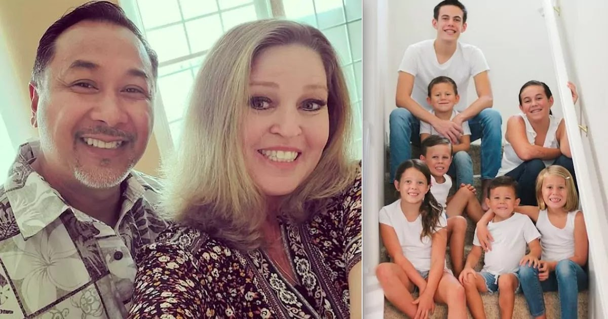 Couple Planning To Retire Adopts 7 Children Who Lost Their Parents In Tragic Car Accident
