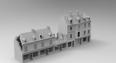 STRETCH GOAL £1500 OPENED CARENTAN CENTER STREET SET PACK 2 picture 2