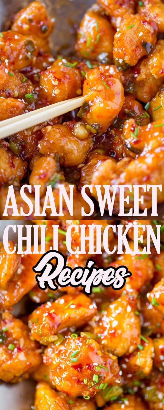ASIAN SWEET CHILI CHICKEN