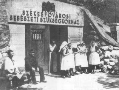 El hospital subterráneo de Budapest