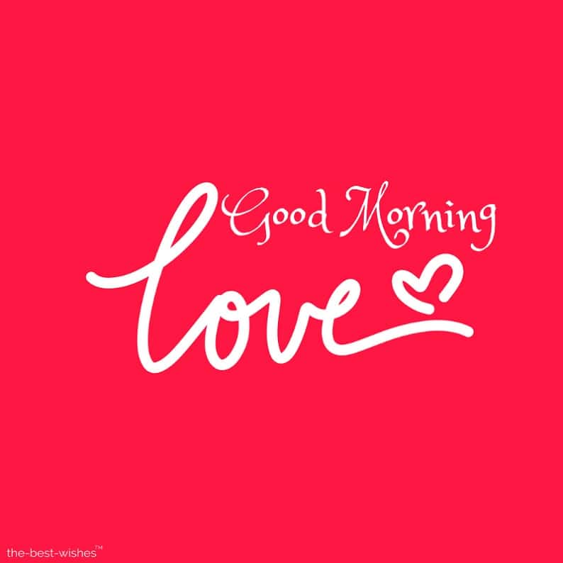 good morning greeting love images