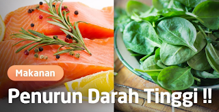 Terapi Makanan Untuk Penderita Darah Tinggi