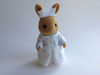 Sylvanian Families Nurse Emily Nightingale Hospital Rabbit