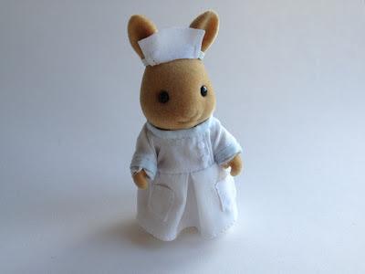 Sylvanian Families Nurse Emily Nightingale Hospital Rabbit