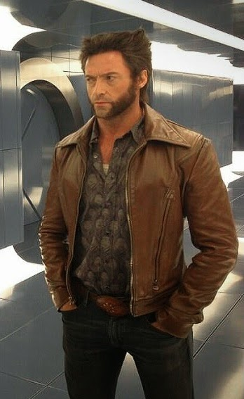 Gambar Leather Jacket Wolverine