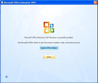 cara install office 2007