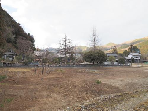 御嶽山神社付近