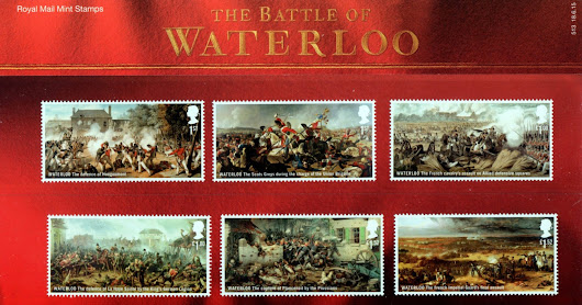 The Battle of Waterloo 2015 Commemorative Stamps