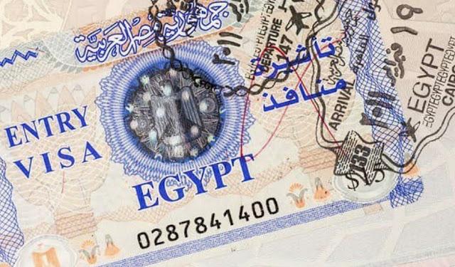 Єгипет, електронна віза