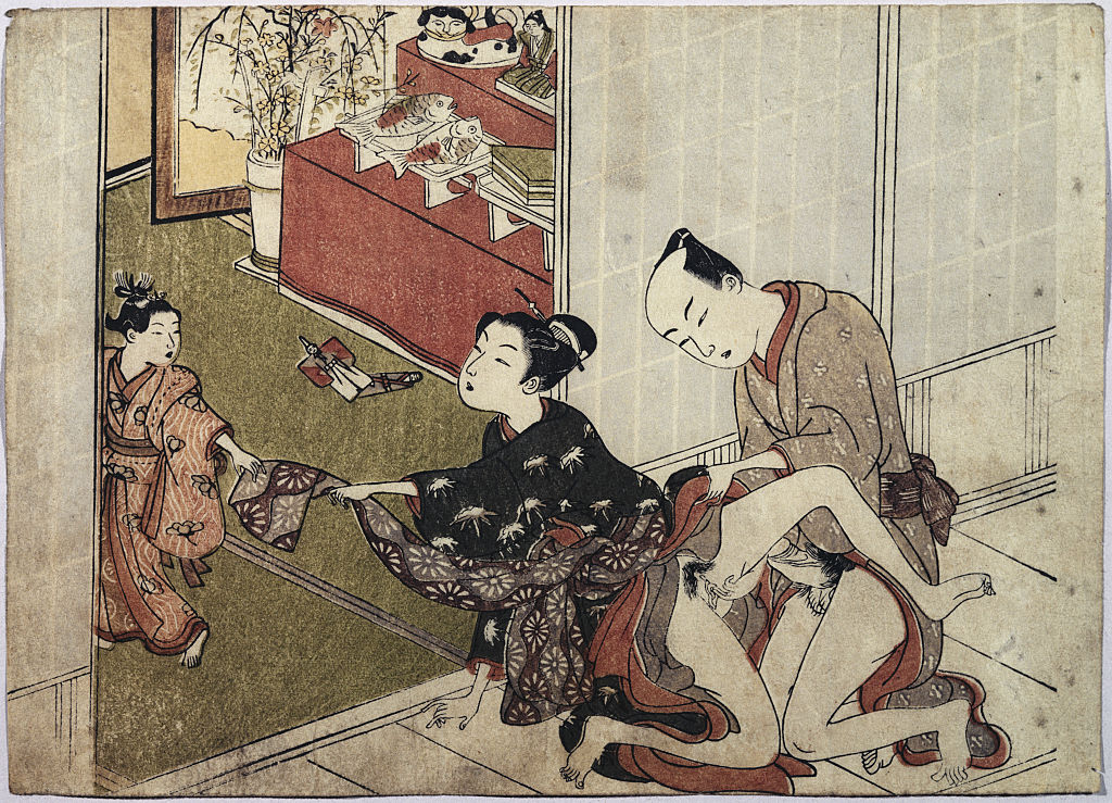 A arte erótica japonesa - a Shunga