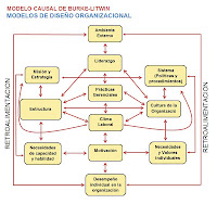 MODELO CAUSAL DE BURKE-LITWIN-MODELOS DE DISEÑO ORGANIZACIONAL