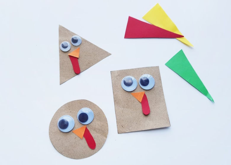 Thanksgiving shape craft