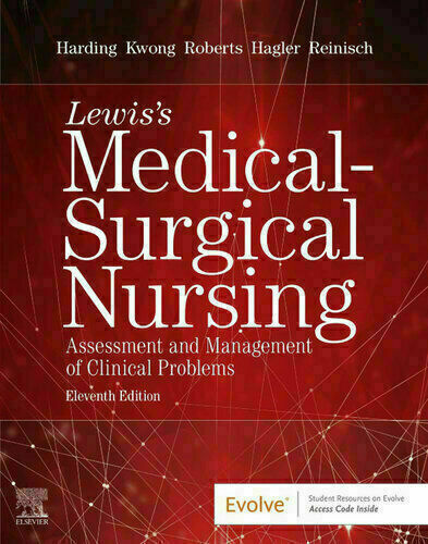 Study Guide for Lewis's Medical-Surgical Nursing, 11th Edition By Harding ✔️[P.D.F] 📙✔️ Fast D