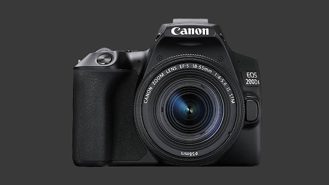 Canon EOS 200D II 24.1MP Digital SLR Camera