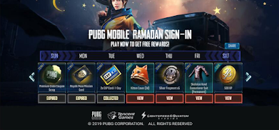 How to get Pubg Ramadan rewards from anywhere