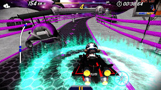 Screenshots of the Monkey racing for Android tablet, phone.