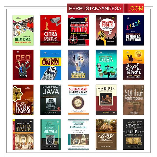 Contoh RAB Pengadaan Buku Desa Kabupaten Blitar Paket 10 Juta