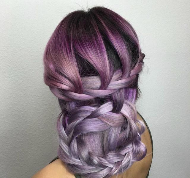 purple hair colour 2020