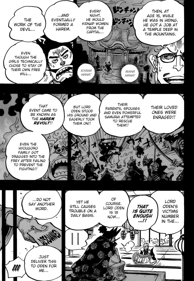 One Piece Manga Chapter 960 - Image 009