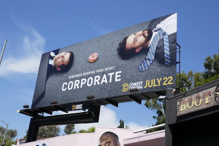 Corporate season 3 billboard