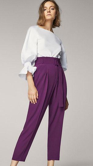 rebajas Massimo Dutti mujer pantalones blusa