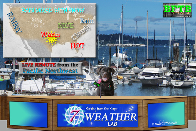 Your USA weather forecast from BFTB Weather Lab Paisley