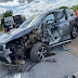 Prefeito Luciano da Locar se envolve em acidente na BR 324 próximo a Tanquinho-BA