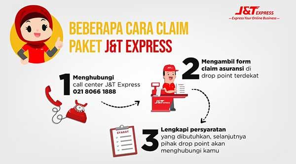 Cara Mengajukan Klaim Asuransi Pengiriman J&T Express
