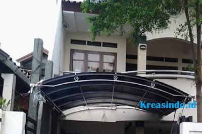 Harga Canopy Stainless Melengkung Model Terbaru