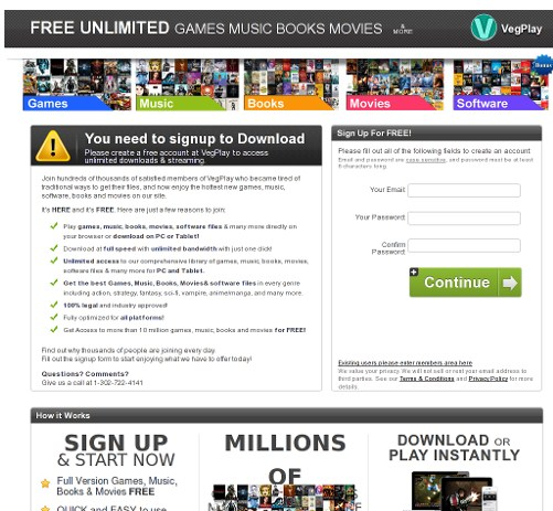 Download Gratis Script Landing Page CPA Movie