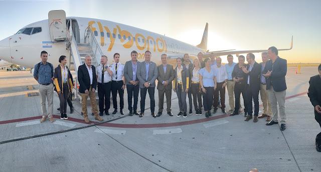 Rosario ya vuela #UltraLowCost con Flybondi