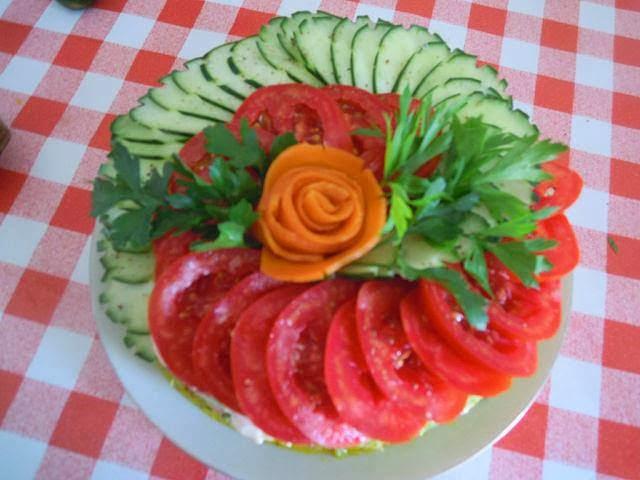 KuzhinaIme.al: 10 Idete te bukura per dekorime sallatash