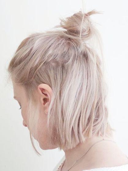 peinados con rodetes 2017