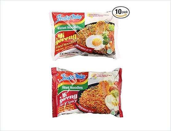 Indomie Mi Goreng Instant Noodles Original and Hot Spicy