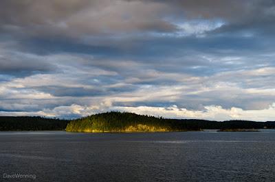 Sunset, Skagit Bay, Washington