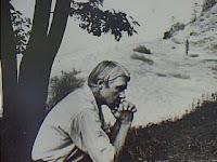 Carl Sandburg in Deep Reflection
