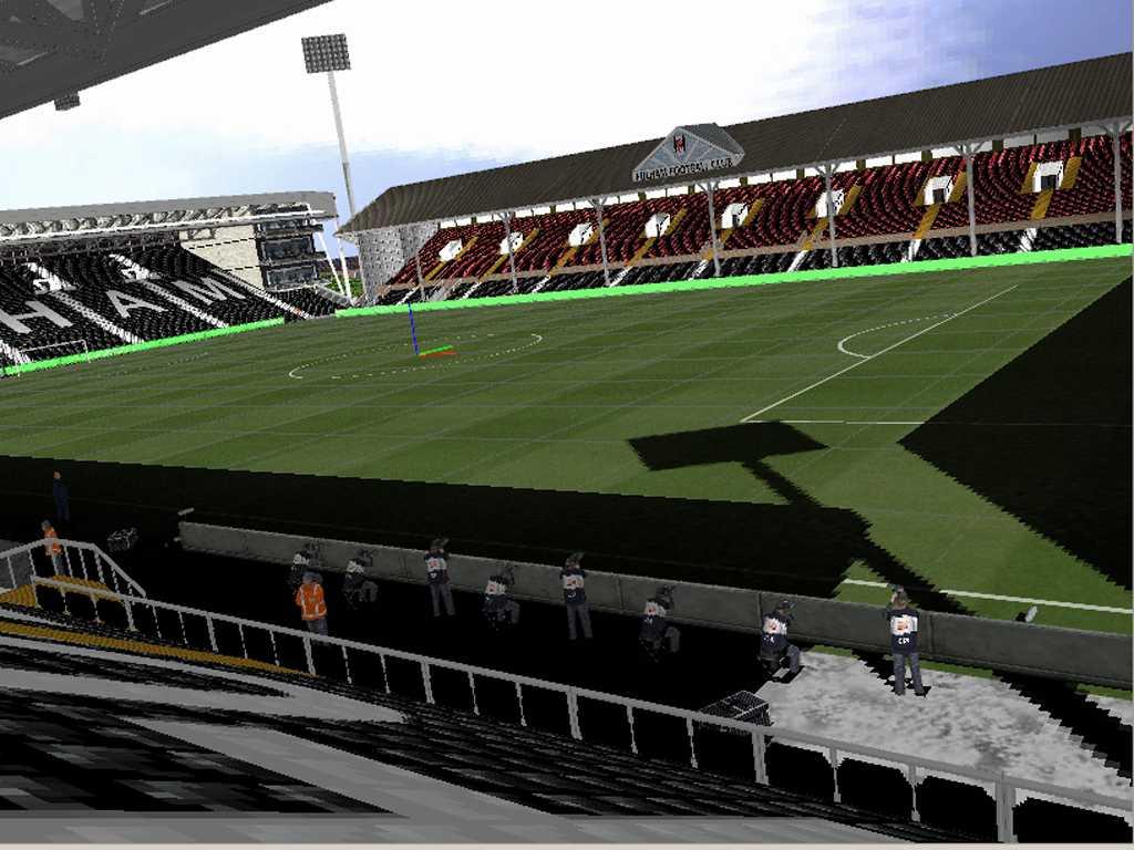 Ultigamerz Pes 6 Eng Craven Cottage Fulham Stadium