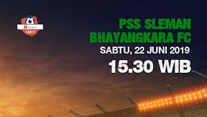Tiket Online PSS Sleman vs Bhayangkara FC di Liga 1 2019