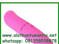 Alat Bantu Wanita Vibrator Mini Satu Getaran Pink