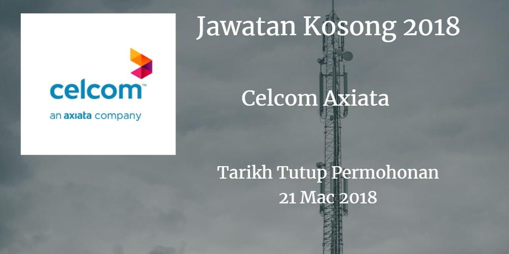 Jawatan Kosong Celcom Axiata 21 Mac 2018
