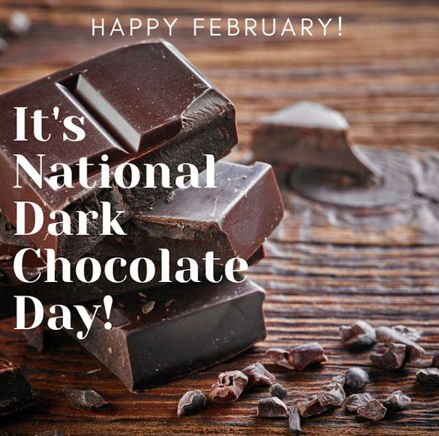 National Dark Chocolate Day Wishes For Facebook